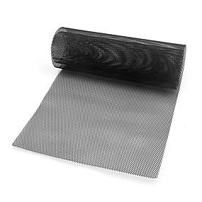 levne Dekorace přední mřížky automobilu-auto vozidlo černý tón hliníková slitina 3 x 6 mm kosočtverec mřížkový list