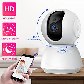 halpa IP-verkkokamerat sisäkäyttöön-sdeter hd 1080p ptz langaton turvakamera wifi pan kallistus pilvivarasto kaksisuuntainen audio ip-kamera CCTV-kameravalvonta yönäköinen vauvamonitori lemmikkikamera p2p-nokka