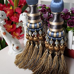 cheap Curtains & Drapes-curtain Accessories Tassel / Tie Back Modern 2 pcs