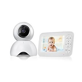 preiswerte Baby Monitore-1mp Babyphone cmos Nachtsichtreichweite 5m drahtlose Überwachungskamera Zwei-Wege-Audio-Remote Viewing Nachtsicht Bewegung erkennen LCD-Display 720p HD