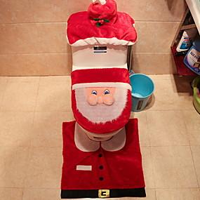 levne Podložky a koberečky-Vánoční ozdoby Prázdninový Polyester Mini Zábavné Vánoční dekorace