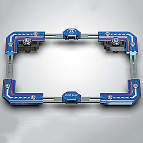 levne Dekorace přední mřížky automobilu-univerzální držák poznávací značky motocyklu číslo držák rám modely
