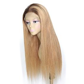 ราคาถูก Short Style Lace Wigs-ผม Remy 4x13 ปิด มีลูกไม้ด้านหน้า วิก ตอนกลาง ส่วนด้านข้าง ฟรี Part สไตล์ ผมบราซิล Straight วิก 150% Hair Density ผู้หญิง คุณภาพที่ดีที่สุด ใหม่ มาใหม่ ลดกระหน่ำ สำหรับผู้หญิง ความยาวระดับกลาง