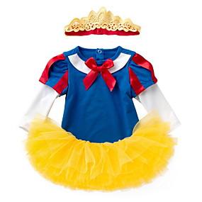 preiswerte Baby & Kinder-Baby Mädchen Street Schick Einfarbig Langarm Standard Kleidungs Set Gelb