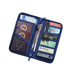 cheap Travel Security-Travel Luggage Organizer / Packing Organizer / Passport Holder & ID Holder / Travel Passport Wallet Polyester / Nylon Waterproof / Dust Proof / Shock Absorption Plain