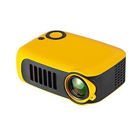 baratos Novidades-Mini projetor portátil de 800 lúmens suporta 1080p lcd 50000 horas de vida útil da lâmpada projetor de vídeo em home theater