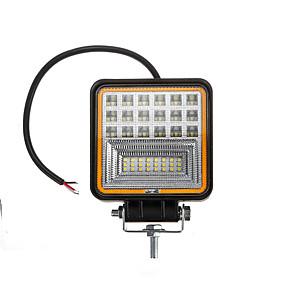 billige Nyankomne i oktober-1 stk 48w 42led bilarbeidslys kombinasjonslampe lampe drl rav engel øyelys for offroad