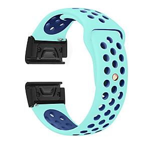 cheap Smartwatch Bands-Watch Band Wrist Strap for Garmin Fenix 5 / Approach S60 / Forerunner 935 / 945 / Quatix 5 / Quatix 5 Sapphire / Fenix 6 / Fenix 5 Plus Watch Quick Release Silicone Easyfit Bracelet Wristband