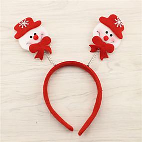 preiswerte Spielzeug für Weihnachten-Weihnachtsdeko Haarband Neuartige Textil Erwachsene Spielzeuge Geschenk