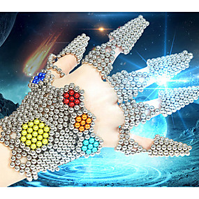 preiswerte YILINFEIER®-216/512/1000 pcs 5mm Magnetspielsachen Magnetische Bälle Bausteine Superstarke Magnete aus seltenem Erdmetall Neodym - Magnet Neodym - Magnet Stress und Angst Relief Büro Schreibtisch Spielzeug