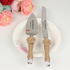 povoljno Setovi za posluživanje-Konop konop / Smola / nehrđajući Vjenčanje / Rođendan 1 set / PP Bag Noževi / Lopata / Bakeware