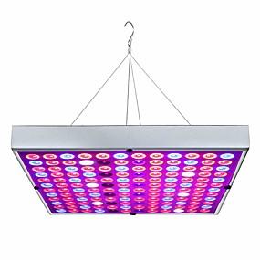 preiswerte Innenbeleuchtung-vollspektrum pflanze blume led wachsen licht led-panel downlight vollspektrum 45w 144led ac85-265v pflanzen blumen vegetation