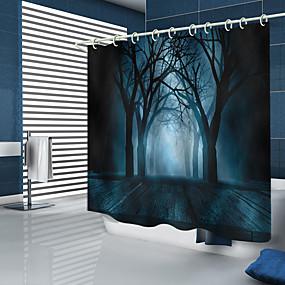 povoljno Halloween-Tuš zavjese i kuke Moderna Poliester New Design