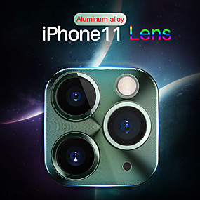 cheap Phones & Accessories-Aluminum Alloy Lens Screen Protector for iPhone 11/11 Pro/11 Pro Max/X/XS/XS MAX/XR/7 8/7 8 Plus Camera Scratch Proof