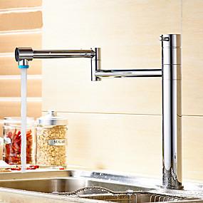 preiswerte Renovierung-Armatur für die Küche - Einhand Ein Loch mehrlagig Pot Filler Andere Moderne Kitchen Taps