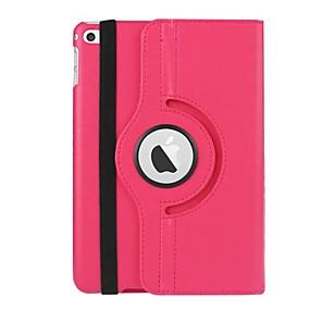 cheap iPad case-Case For Apple iPad Mini 4 Magnetic / Auto Sleep / Wake Up Full Body Cases Solid Colored PU Leather / TPU
