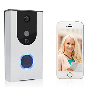 cheap Video Door Phone Systems-Factory OEM tzh-618 WIFI Photographed No Screen(output by APP) Telephone One to One video doorphone