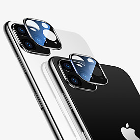 cheap Screen Protectors-Tempered Glass For IPhone 11 Pro Max Black Full Coverage Tempered Glass Camera Lens Screen Protector For IPhone 11 2019 Black Full Cover Protective Glass Film