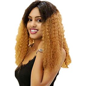 preiswerte Braid Style Lace Wigs-Echthaar Spitzenfront Perücke Seitenteil Stil Brasilianisches Haar Locken Mehrfarbig Perücke 130% Haardichte Klassisch Damen Modisch Damen Kurz Echthaar Perücken mit Spitze Clytie