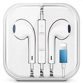cheap Wired Earbuds-Wired Earphone with Microphone Stereo Earphones for iPhone iPod iPod Wired Earphone
