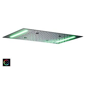 preiswerte Duschköpfe-Moderne Regendusche Lackierte Oberflächen Eigenschaft - Regenfall / LED / Dusche, Duschkopf
