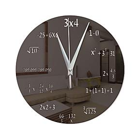 cheap Rustic Wall Clocks-Modern Contemporary / Fashion Acrylic Irregular Classic Theme Indoor Battery Decoration Wall Clock Digital Specification No