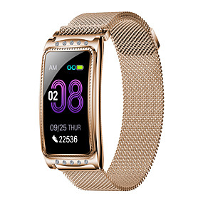 cheap New Arrivals-New F28 Fashion Women's Steel Belt Sports Bluetooth Smart Watch / Heart Rate And Blood Pressure Health Monitoring / Female Physiological Monitoring / Multiple Sports Modes / IP67 Waterproof