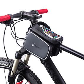 preiswerte Fahrradabdeckung-Handy-Tasche 6 Zoll Touchscreen Radsport für Radsport Schwarz Rennrad Radsport / Fahhrad Freizeit-Radfahren