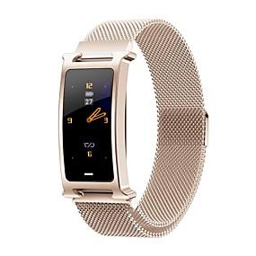 hesapli Yeni Gelenler-Yeni f8 moda erkek multi-fonksiyonel çelik kemer spor bluetooth smart watch / kalp hızı kan basıncı oksijen sağlık izleme / çoklu spor modları / ip67 su geçirmez