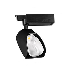 cheap LED Track Lights-Spotlights Led Polarized Track Lights Cob Display Background Wall Nordic Commercial Store Energy Saving 20w