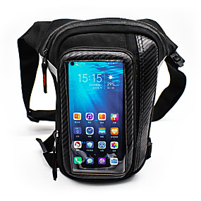 cheap Motorcycle Luggage & Bags-WOSAWE Motorcycle Leg Pockets Touch Screen Mobile Phone Bag Reflective Waterproof