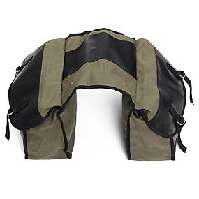 billige Bagasje til motorsykkel-motorsykkel saddlebags lerret side ryggsekk sykkel multi-purpose bagasje bag green