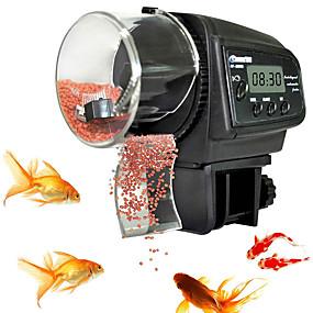 preiswerte Fische Futter-Vorrichtungen-Aquarien Fischzufuhr Futter-Vorrichtungen Eletrisch / Elektrisch Automatisch Einstellbare Flexible Kunststoff 1 Stück
