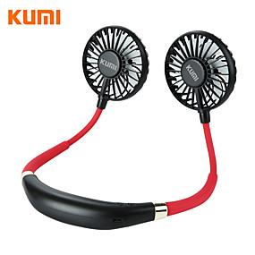 preiswerte Fan-kumi portable handheld fan mini portable outdoor halskette hals lüfter 180 grad drehbare einstellung für zu hause reisen