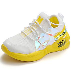 preiswerte Schuhe für Kinder-Jungen / Mädchen Komfort Leinwand Flache Schuhe Kleine Kinder (4-7 Jahre) Gelb / Rosa Frühling / Herbst