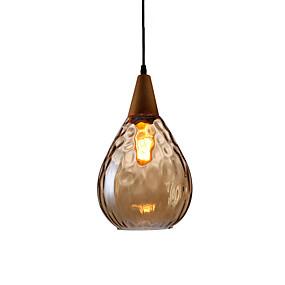 preiswerte Beleuchtung-JSGYlights Mini Pendelleuchten Raumbeleuchtung Lackierte Oberflächen Holz Holz / Bambus Glas Neues Design 110-120V / 220-240V