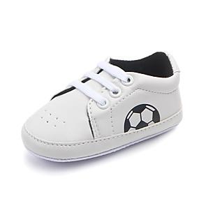 preiswerte Schuhe für Kinder-Jungen Komfort / Lauflern PU Sneakers Kleinkinder (0-9 m) / Kleinkind (9m-4ys) Schwarz / Rot / Blau Frühling / Herbst