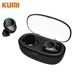 cheap Wired Earbuds-KUMI T5S TWS True Wireless Earbuds IPX7 Waterproof Bluetooth 5.0 Smart Touch Control Headphone Sport Fitness Earphone