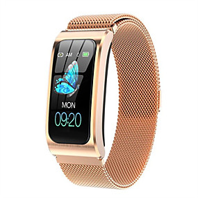 cheap Smart Watches-AK12 Women's Smartwatch Smart Bracelet Smartwatch Bluetooth Water Resistant / Waterproof Heart Rate Monitor Blood Pressure Measurement Bluetooth Smart ECG+PPG Stopwatch Heart Rate Monitor Sedentary