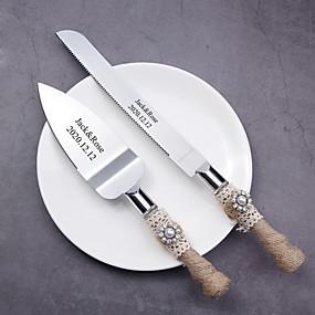 povoljno Setovi za posluživanje-Smola / nehrđajući Vjenčanje / Rođendan 1 set / PP Bag Noževi / Lopata / Bakeware