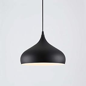povoljno Lámpatestek-zdjela Privjesak Svjetla Downlight Slikano završi Mini Style 110-120V / 220-240V / E26 / E27