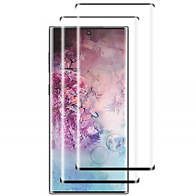 cheap Screen Protectors-2pcs 9H Tempered Glass Screen Protector for Samsung Galaxy Note 10 / Note 10 Plus / Note 9 / Note 8