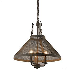 povoljno Viseća rasvjeta-vintage privjesak žarulja tradicionalna retro svjetiljka za predsoblje blagovaonice prolaz e12 / e14 3 žarulja nije uključena