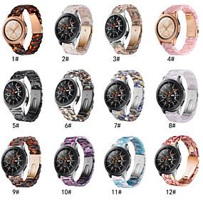 cheap Smartwatch Bands-Quick Release Resin 22mm Watch Band For Samsung Galaxy Watch 46mm/Gear S3 Classic Wristband Belt Bracelet