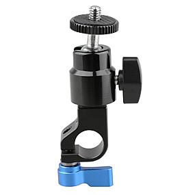 preiswerte Beleuchtung, Studio und Zubehör-camvate 15mm stabklemme mit 1/4 schraube kugelkopfhalterung c1716