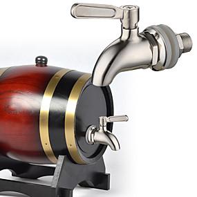 preiswerte Under $49.99-einzigen kalten Wand Küchenhahn Wasserhahn Bar Getränkefass Bierfass Wasserhahn Edelstahl Bierhahn