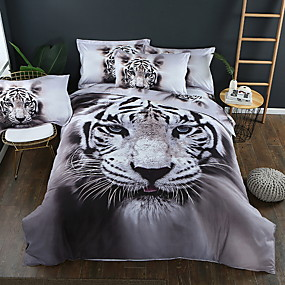 cheap 3D Duvet Covers-Duvet Cover Sets 3D Polyester / Polyamide Printed 3 PieceBedding Sets