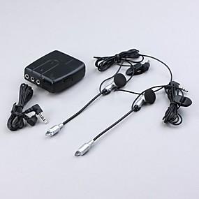 billige Nyankomne i oktober-universal motorsykkelhjelm intercom 2-veis headset med mikrofon walkie talkie