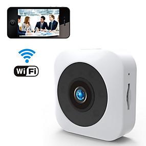 preiswerte Schutz & Sicherheit-wifi & wireless hd 1080p 2mp mini kamera handy fernbetrachtung bewegungserkennung alarm nachtsicht 140 ° super weitwinkel für büro klassenzimmer nach hause fahren unterstützung tf karte