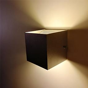 preiswerte Befestigungen für Beleuchtung-1 stück 10 watt indoor led wandleuchte moderne auf und ab kopf aluminium wandleuchte für schlafzimmer flur treppenhaus dekoration und beleuchtung 85-265 v